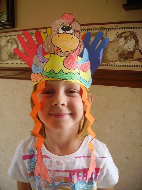 Turkey Headband Kids Amp Glitter