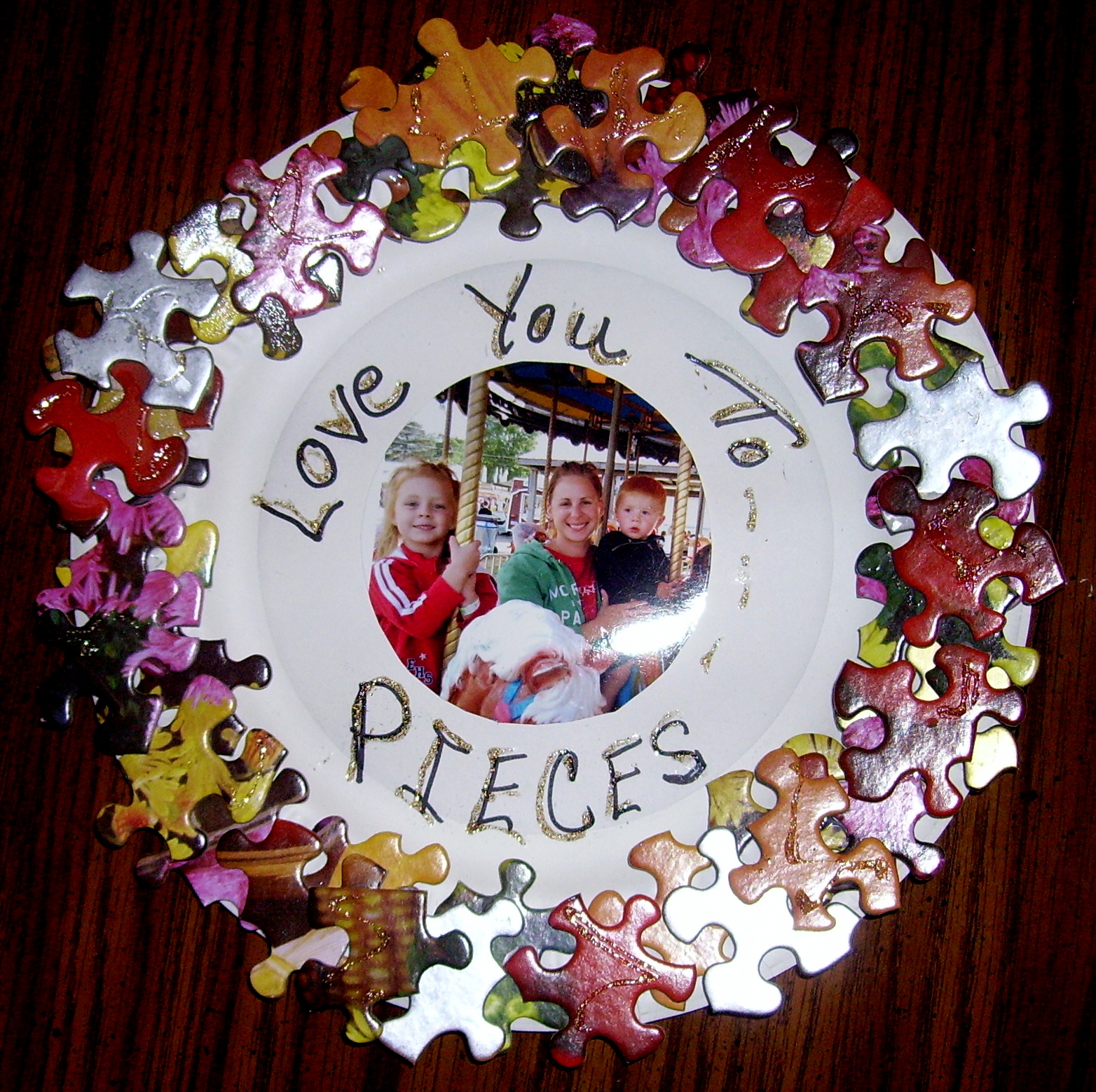 "LOVE YOU TO PIECES"" FRAME 