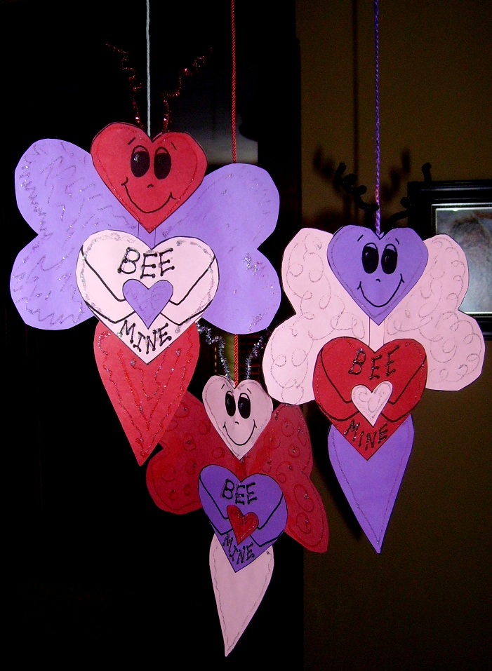 Valentine Crafts For Kids, Art Projects For Kids, Valentine Art Projects