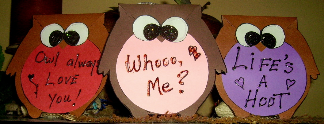 Owl Valentine Card – How to Make Valentines Cards