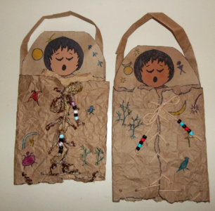 American indian papoose kids glitter for American indian crafts for kids
