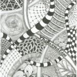 zentangle-the doodle