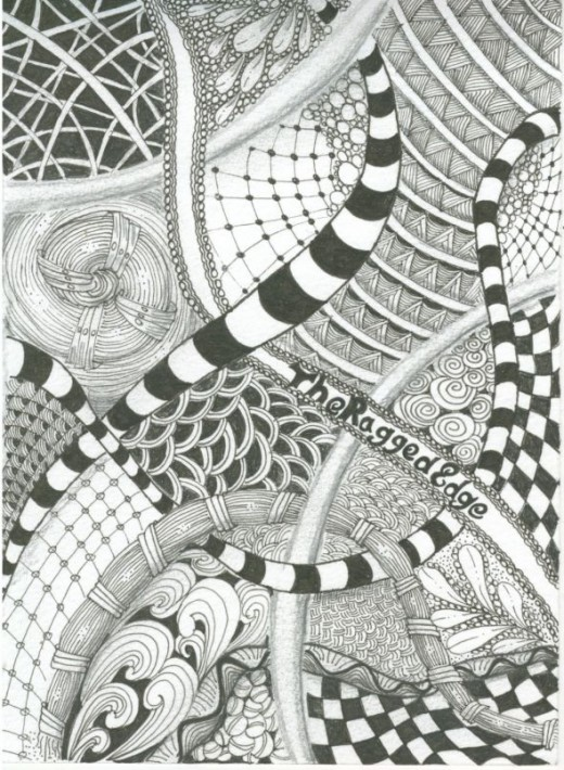 zendoodle how to draw a zentangle