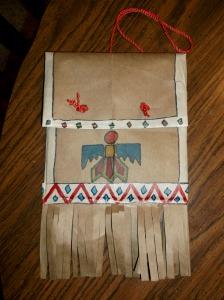 American Indian Parfleche Kids Amp Glitter